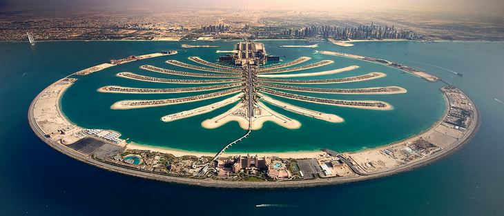 Palm Jumeirah. Credit foto: blog.bayut.com