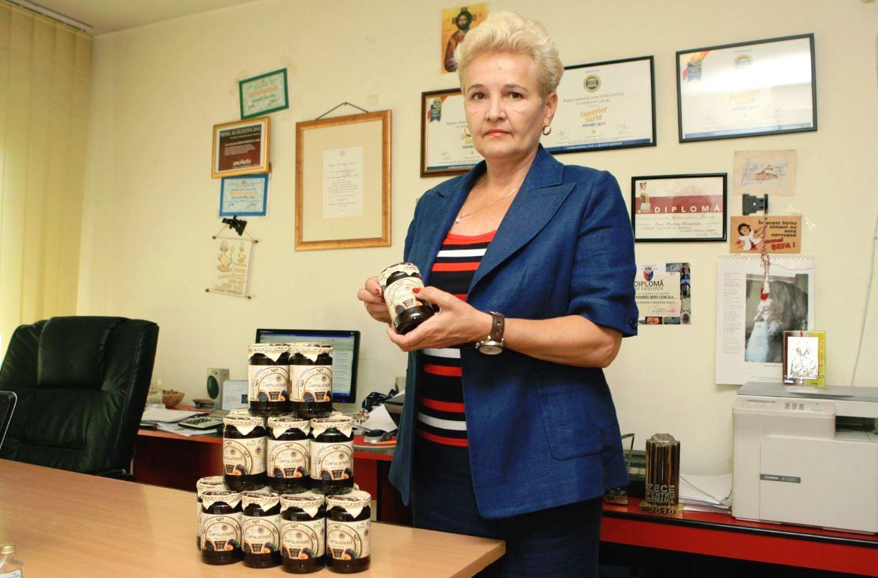 Bibiana Stanciulov produce magiunul de Topoloveni, produs certificat în UE