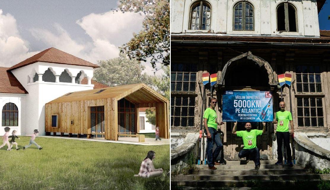Centrul social de la Adunații Copăceni, destinat copiilor grav bolnavi, nu poate fi construit fără donații