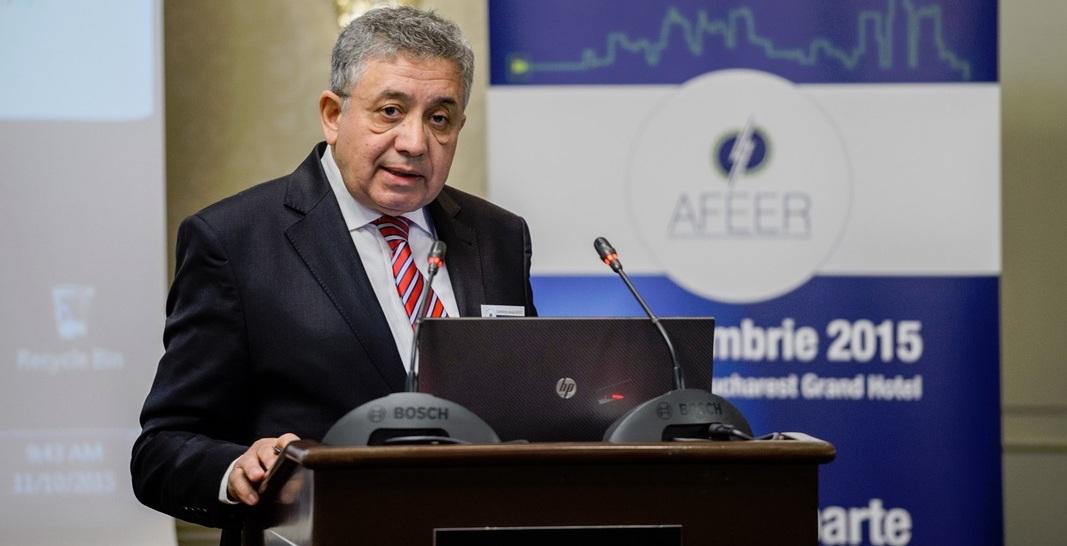 Ion Lungu este președintele Asociației Furnizorilor de Energie Electrică din România. Credit foto: afeer.co